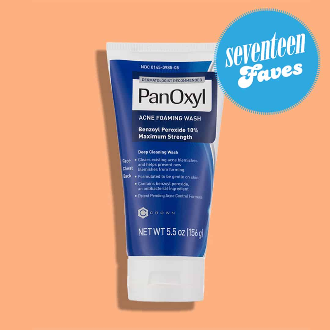 Panoxyl 10 Acne Foaming Wash Face Wash With Benzoyl Peroxide